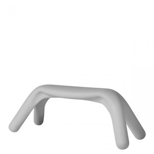 Slide Atlas ławka w kolorze białym