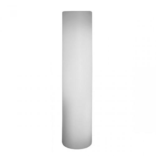 Slide Fluo lampa dekoracyjna, kolor biały