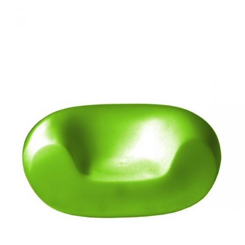 Slide Chubby fotel w kolorze zielonym