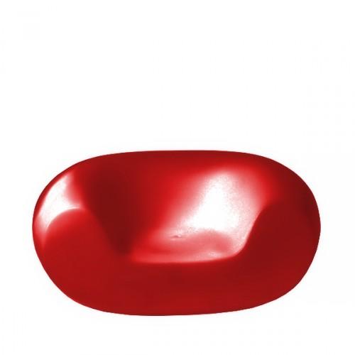 Slide Chubby fotel w kolorze czerwonym