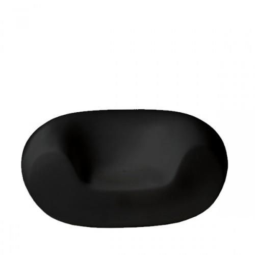 Slide Chubby fotel w kolorze czarnym