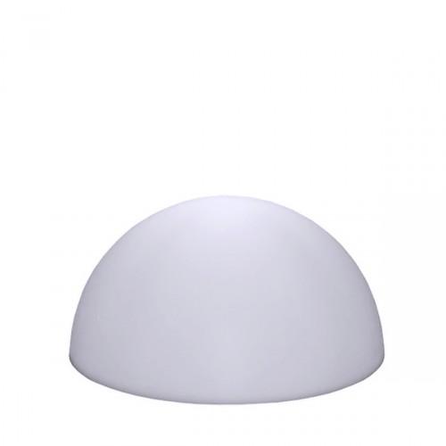 Slide Half Globo Out lampa w kształcie połowy kuli, kolor biały