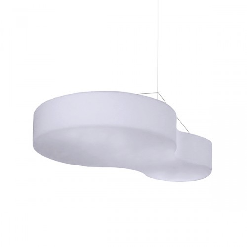 Slide Nuvola lampa podwieszana, kolor biały