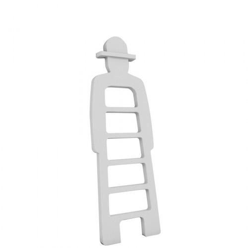 Slide Mr Gio drabina, kolor biały
