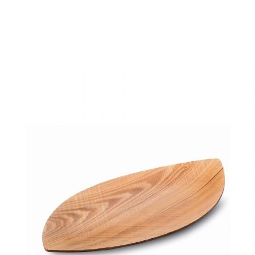 Legnoart Leaf taca do serwowania, mała,kolor jesion