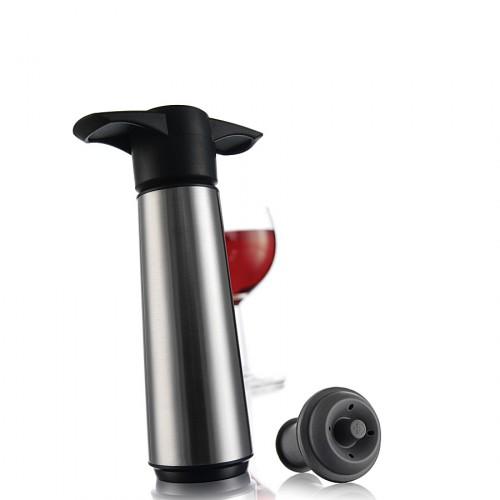 Vacu Vin Wine Server pompka próżniowa do wina z 2 korkami i 2 nalewakami