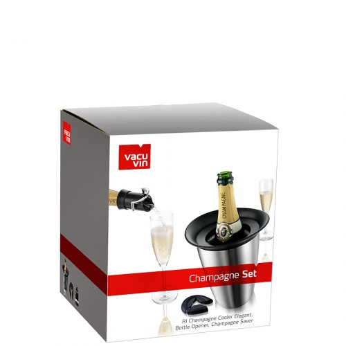 Vacu Vin Elegant zestaw akcesoriów do szampana