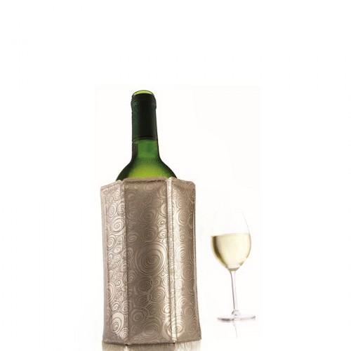 Vacu Vin  Platinum cooler do butelki wina, kolor platynowy
