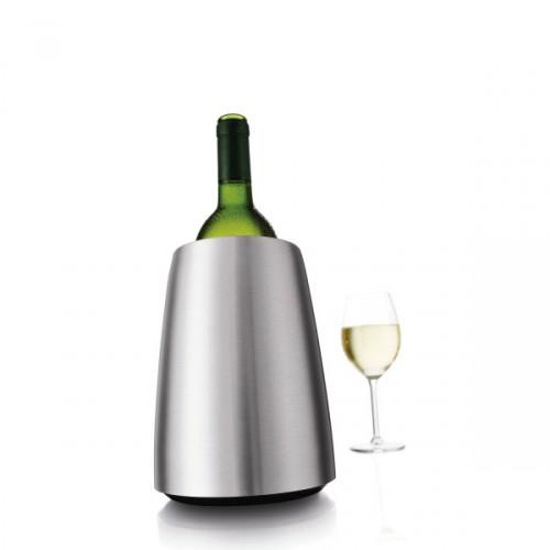 Vacu Vin Elegant kubełek na butelkę wina, stalowy