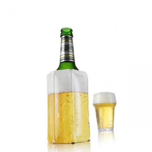 Vacu Vin Lager okrycie chłodzące do butelki piwa