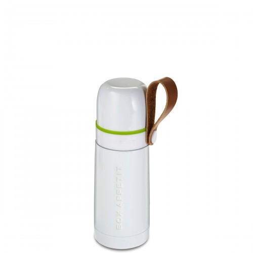 Black + Blum Thermo-Flask termos stalowy, kolor biały