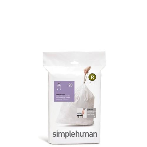 SimpleHuman Simplehuman Worki na śmieci, 20 szt.