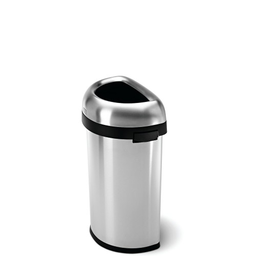 SimpleHuman Bullet Open Kosz na śmieci, półokrągły