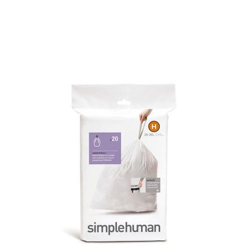 Simple Human Simplehuman Worki na śmieci, 20 szt.
