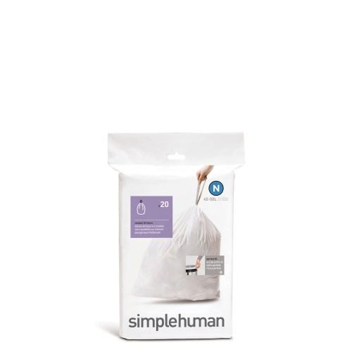 SimpleHuman Simple Human Worki na śmieci, 20 szt.