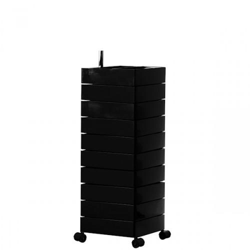 MAGIS 360 Container podręczna szafka z szufladami, kolor czarny