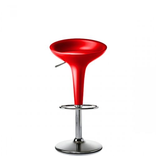 MAGIS Bombo krzesło barowe, kolor czerwony