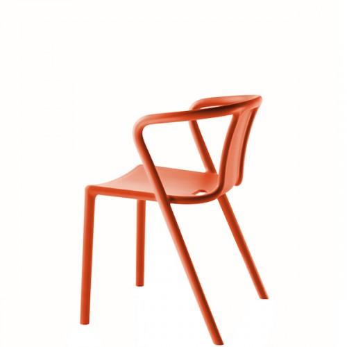 MAGIS Air-Armchair krzesło z podłokietnikami, kolor pomarańczowy