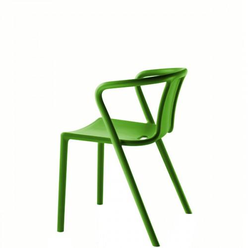 MAGIS Air-Armchair krzesło z podłokietnikami, kolor zielony