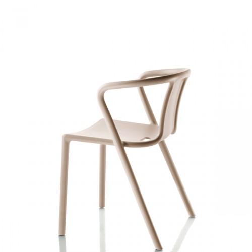 MAGIS Air-Armchair krzesło z podłokietnikami, kolor beżowy