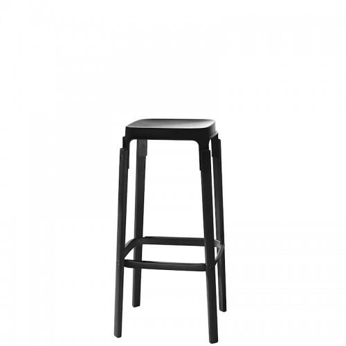 MAGIS Steelwood krzesło barowe