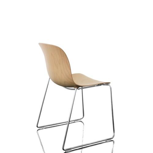 MAGIS Troy Sledge Wood krzesło