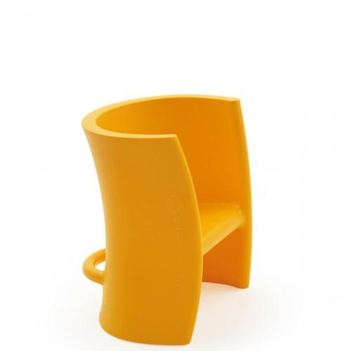MAGIS me too Trioli krzesło dziecięce, żółte