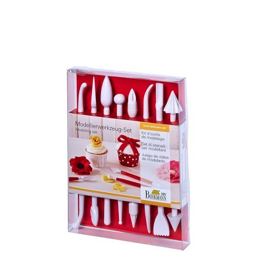 Birkmann Cake couture narzędzia do modelowania lukru, 8 elementów