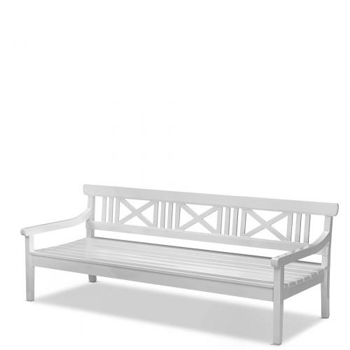 Skagerak Drachmann ławka ogrodowa, kolor biały