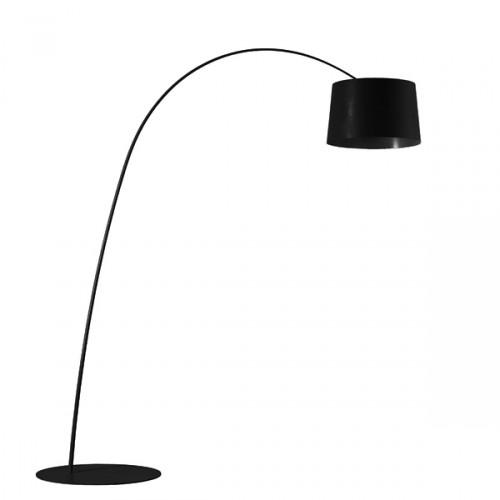 FOSCARINI Twiggy LED lampa stojąca, kolor czarny