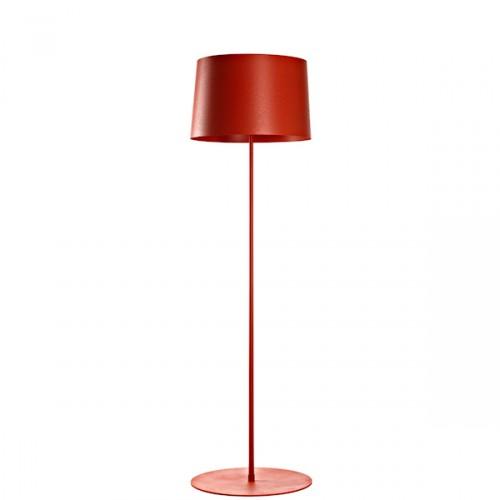 FOSCARINI Twiggy Lettura lampa stojąca, kolor czerwony