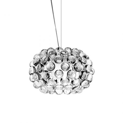 FOSCARINI Caboche lampa wisząca, mała, kolor transparentny