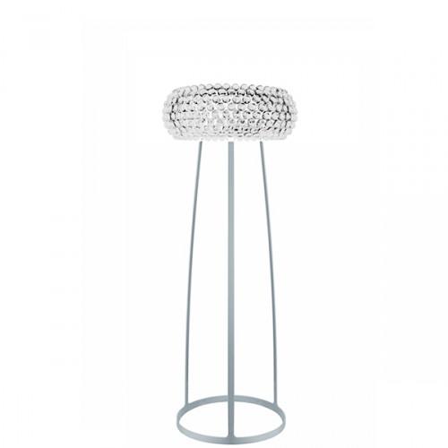 FOSCARINI Caboche medium lampa stojąca kolor transparentny