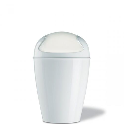 Koziol Del M kosz na śmieci, kolor biały