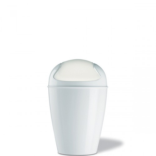 Koziol Del XS kosz na śmieci, kolor biały