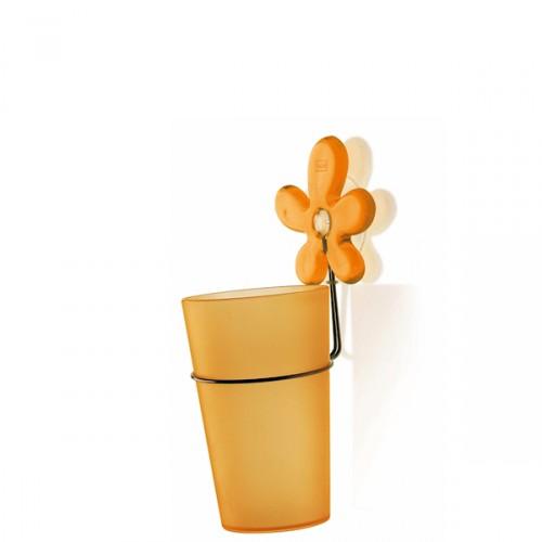 Koziol A-Pril kubek łazienkowy, kolor pomarańczowy