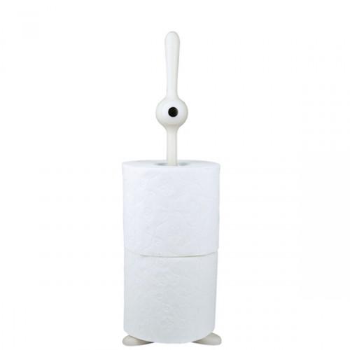 Koziol Toq stojak na papier toaletowy, kolor biały