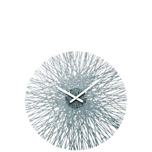 Koziol Silk zegar ścienny, kolor antracytowy