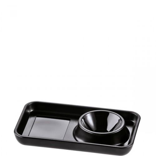 Koziol Pott 2.0 podstawka do jajka, kolor czarny