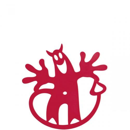 Koziol Hell-O podstawka pod naczynie, kolor malinowy