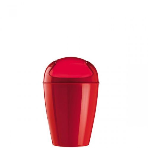 Koziol Del XS kosz na śmieci, kolor malinowy