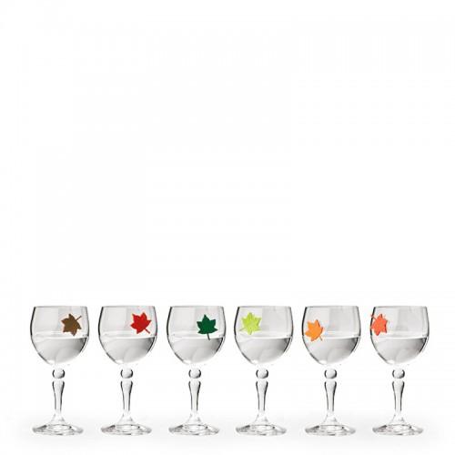 QUALY Leaf My Glass Znaczniki na szklanki