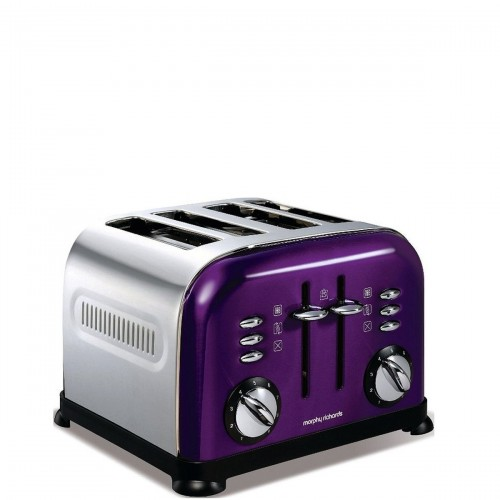 Morphy Richards Toster Accents Purple Toster na 4 tosty