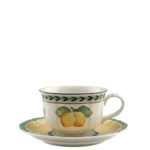 Villeroy & Boch French Garden Fleurence filiżanka do herbaty ze spodkiem