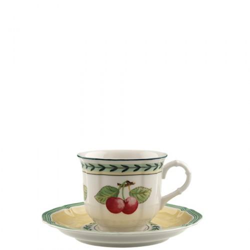 Villeroy & Boch French Garden Fleurence filiżanka do kawy ze spodkiem