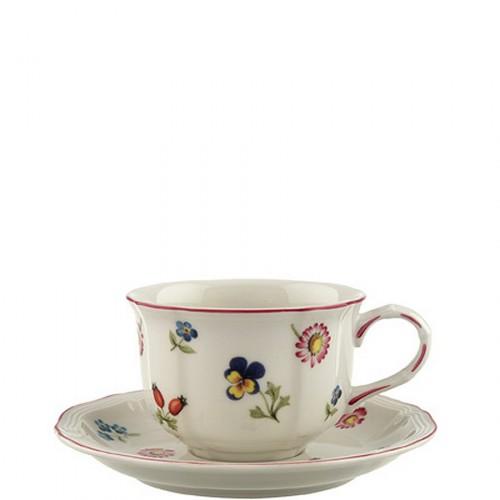 Villeroy & Boch Petite Fleur filiżanka do herbaty ze spodkiem