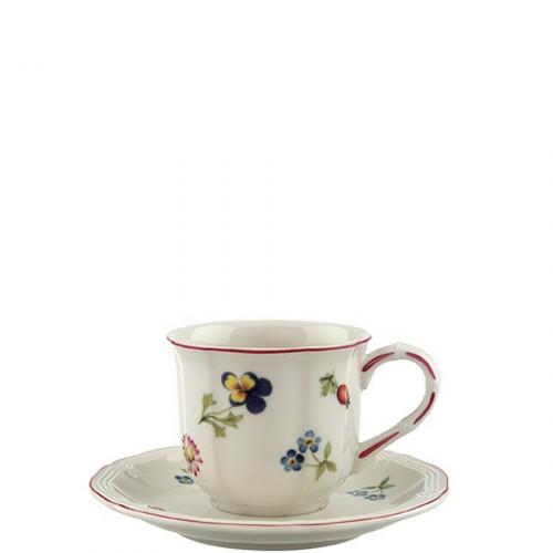 Villeroy & Boch Petite Fleur filiżanka do espresso ze spodkiem