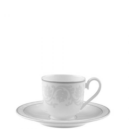 Villeroy & Boch Gray Pearl filiżanka do espresso ze spodkiem