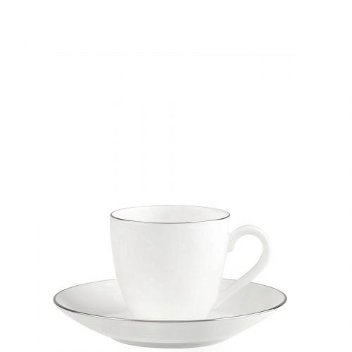 Villeroy & Boch Anmut Platinum filiżanka do espresso ze spodkiem