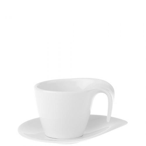 Villeroy & Boch Flow filiżanka do kawy ze spodkiem